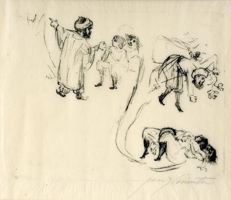 Litografía Corinth - Illustration zu 1001 Nacht