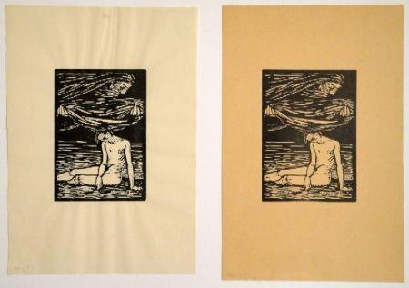 """Grabado En Madera Hofer - Illustrationen zu Hans Reinhart """"Der Tag"""""""