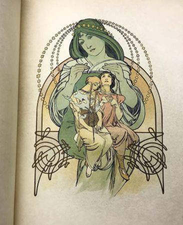 Libro Ilustrado Mucha - ILSÉE, PRINCESSE DE TRIPOLI. 132 lithographies de Mucha