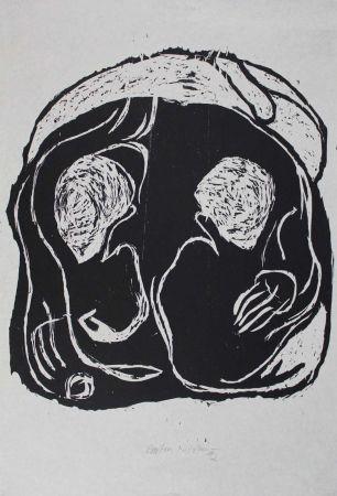 Grabado En Madera Nicolai - Im Inneren frisst das Helle das Dunkle II