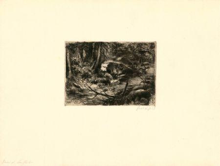 Grabado Fuchs - Im Wald
