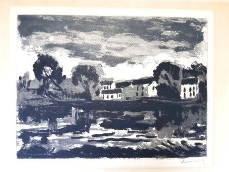 Litografía Vlaminck - Image : 23,5 x 32 cm