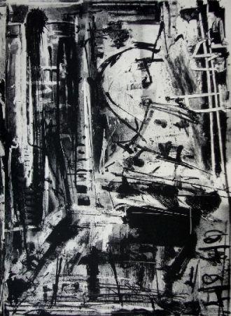 Litografía Vedova - Immanente 1