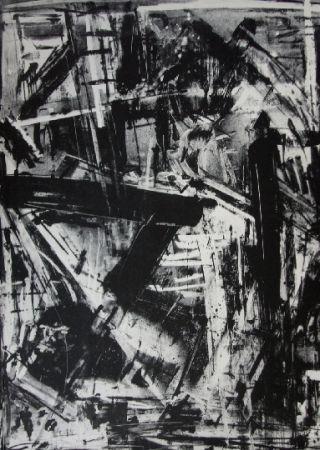 Litografía Vedova - Immanente 2