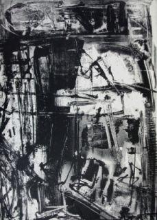 Litografía Vedova - Immanente 3