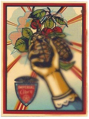 Serigrafía Fairey - Imperial Glory