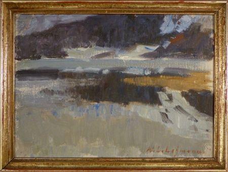 Sin Técnico Lehmann - Impressionistische Landschaftsstudie