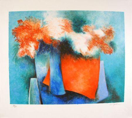 Litografía Gaveau - Impressions florales