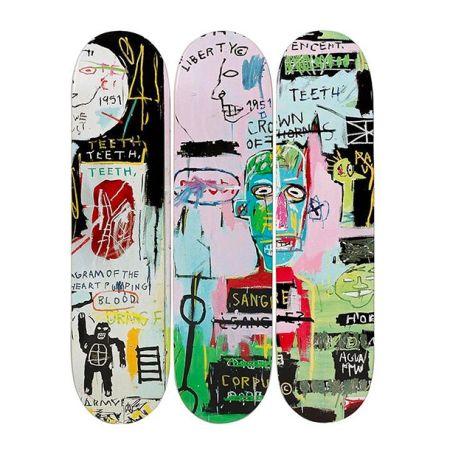 Litografía Basquiat - In Italian