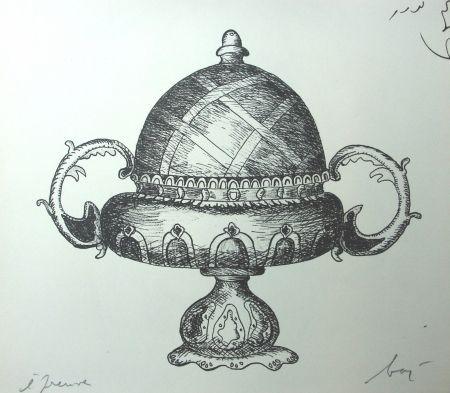 Litografía Baj - Incongruité