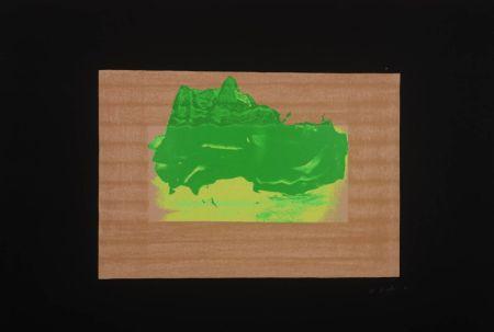 Serigrafía Hodgkin - Indian Views Suite – Plate D