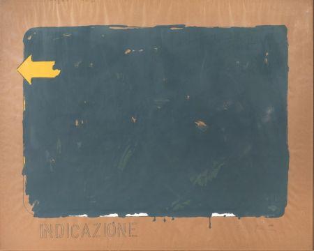 Serigrafía Schifano - Indicazione