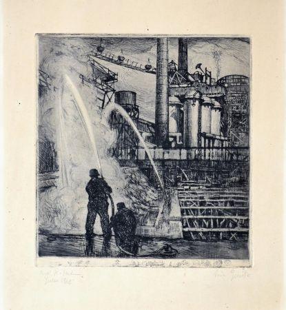 Aguafuerte Balsamo Stella - Industrial theme