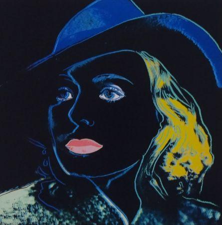 Serigrafía Warhol - Ingrid Bergman
