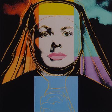 Serigrafía Warhol - Ingrid Bergman - The bells of St. Mary´s