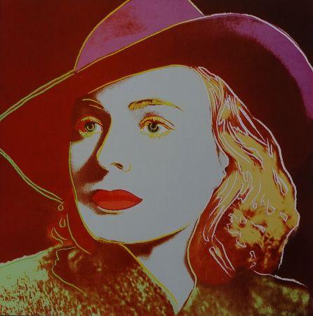 Serigrafía Warhol - Ingrid Bergman Casablanca