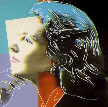 Serigrafía Warhol - Ingrid Bergman Herself