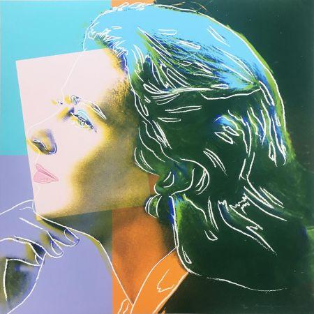 Serigrafía Warhol - Ingrid Bergman: Herself