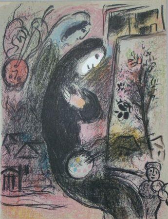 Litografía Chagall - Inspiration