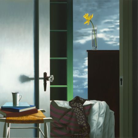 Sin Técnico Cohen - Interior with View of Buttermilk Clouds