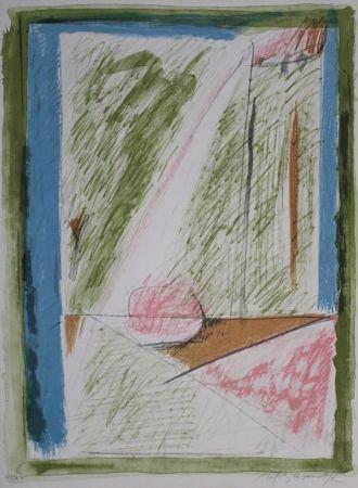 Litografía Ràfols Casamada - Interiors 1