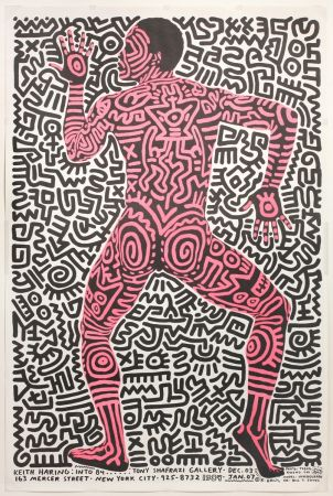 Offset Haring - Into 84…Tony Shafrazi Gallery
