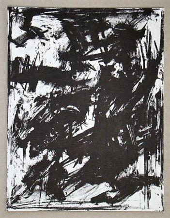 Litografía Vedova - Intolleranza 1960
