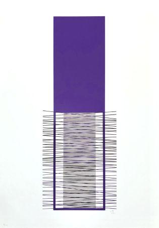 Serigrafía Soto - Irritiertes Lila
