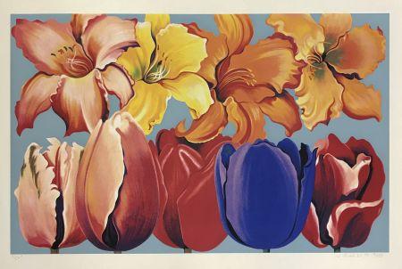 Serigrafía Nesbitt - ISLAND OF FLOWERS
