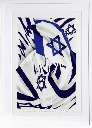 Litografía Rosenquist - Israel Flag at the Speed of Light
