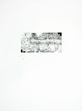 Grabado Chillida - Itsasoratu
