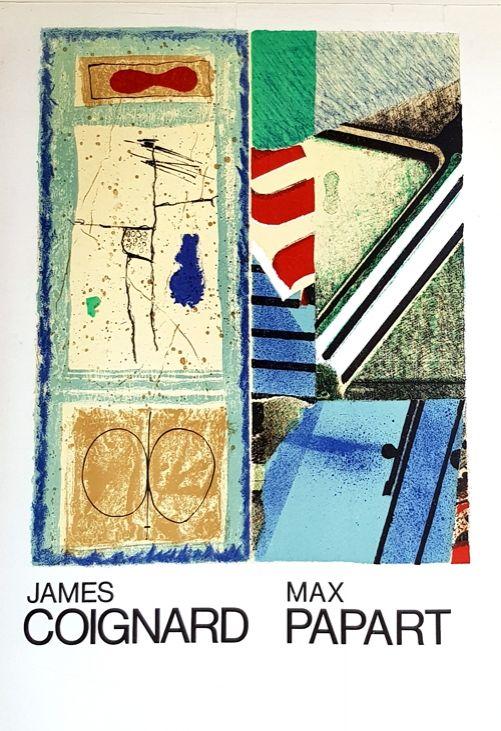 Litografía Coignard - J Coignard  Max Papart