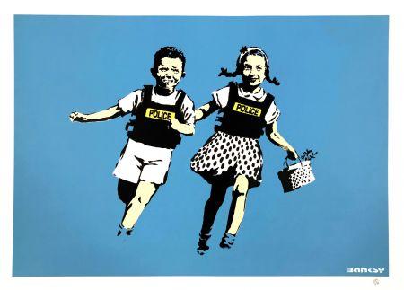 Serigrafía Banksy - JACK AND JILL
