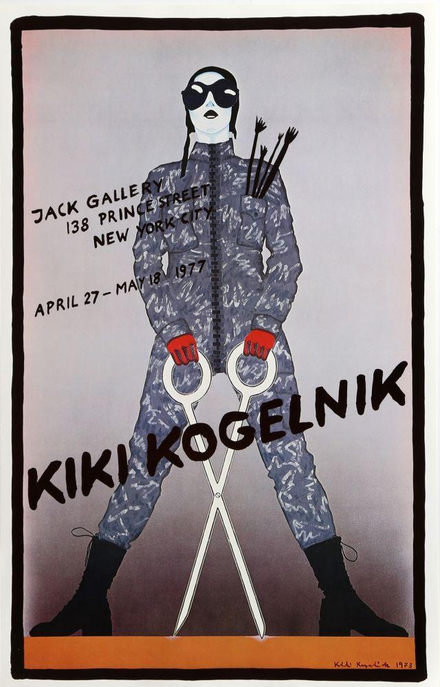 Cartel Kogelnik - Jack Gallery (Scissors)