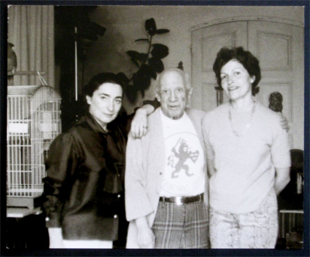 Fotografía Picasso - Jacqueline, Picasso et Gilberte Brassai (