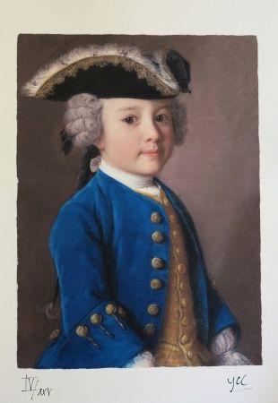 Estampa Numérica Liotard - Jacques de Chapeaurouge - 1752