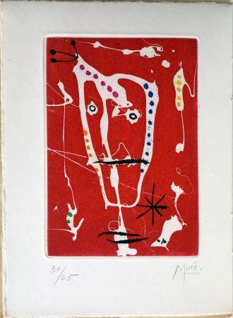 Libro Ilustrado Miró - Jacques Dupin : LES BRISANTS (1958).