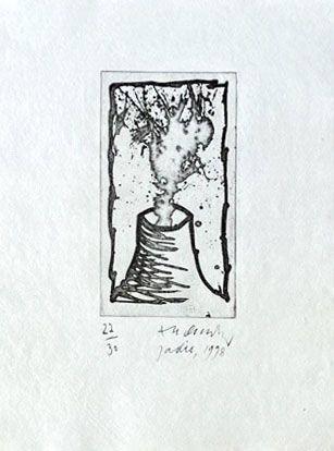 Grabado Alechinsky - Jadis