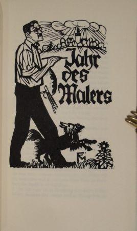 Libro Ilustrado Felixmuller  - Jahr des Malers
