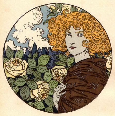 Litografía Grasset - Jalousie