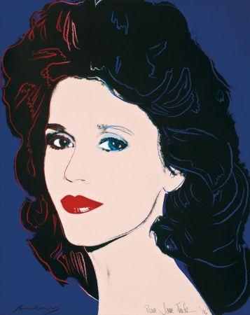 Serigrafía Warhol - Jane Fonda (FS II.268)