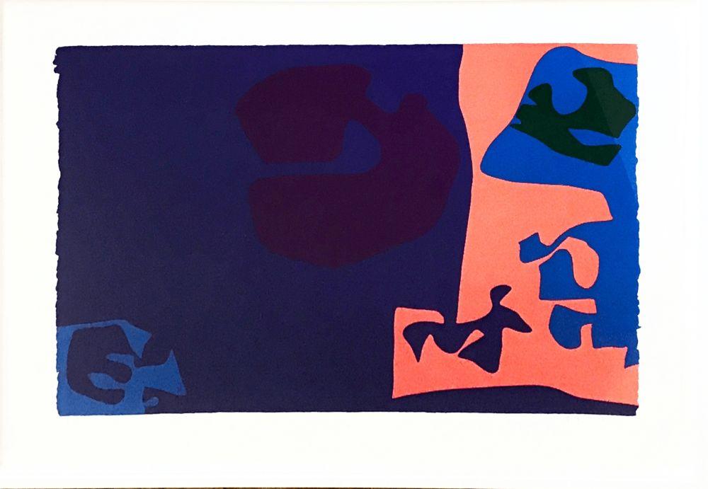 Serigrafía Heron -  January 1973: Plate 18