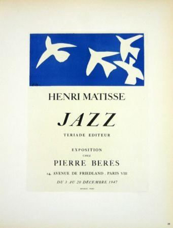 Litografía Matisse - Jazz