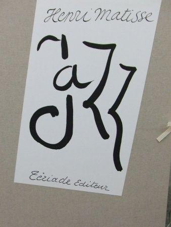 Litografía Matisse - Jazz coffret