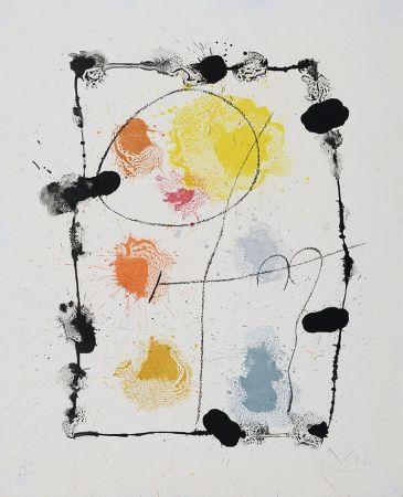 Litografía Miró - Je Travaille Comme Un Jardinier (I Work Like A Gardener), 1963