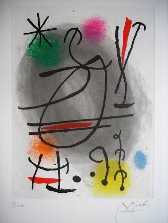 Aguafuerte Y Aguatinta Miró - Jean Cassou: vingt-deux poèms