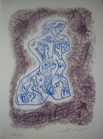 Litografía Masson - Jean Cassou: vingt-deux poèms
