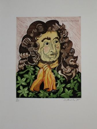 Aguafuerte Y Aguatinta Dittrich - Jean de la Fontaine