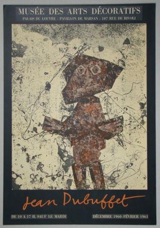 Litografía Dubuffet - Jean Dubuffet