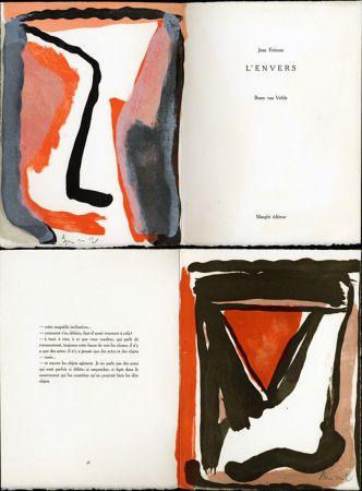 Libro Ilustrado Van Velde - Jean Frémon. L'ENVERS. Maeght, Paris 1978